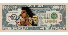 Michael Jackson Commemorative Bill