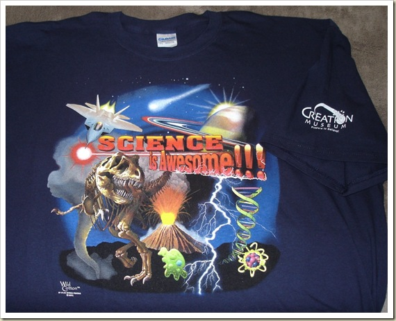 Creation Museum T-shirt - Science is Awesome!!!