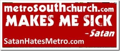 Metro South Church Sign 1