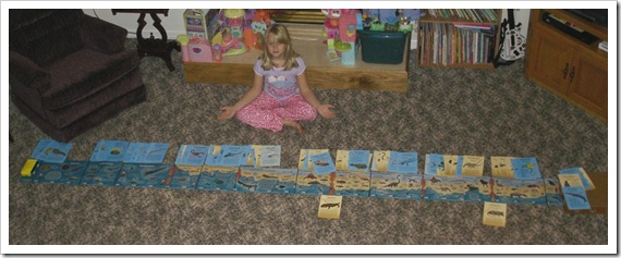 Charlie's Playhouse Evolution Timeline and Ancient Creature Cards