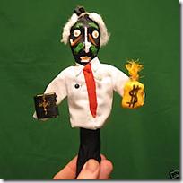 eBay - Pat Robertson Voodoo Doll to benefit Haiti