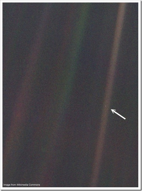 Voyager 1 - Pale Blue Dot