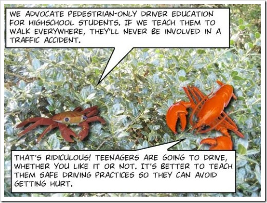 Tree Lobsters #131 - Safety Measures (click for the full comic)